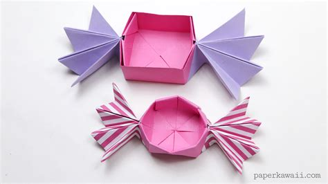 Origami Chocolate - origami box paper kawaii