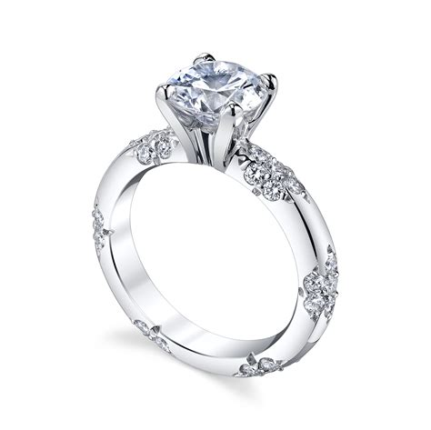 the crown lace ring michael b jewelry