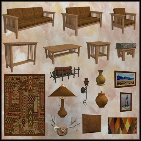 Mission Style Living Room Set Mission Style Living Room Set