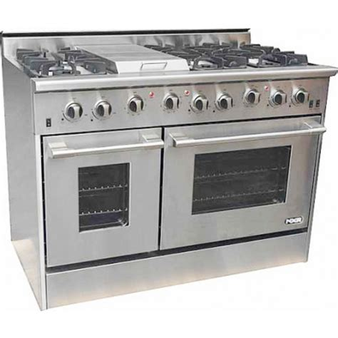propane kitchen appliances nxr professional drgb4801lp 48 quot pro style gas range