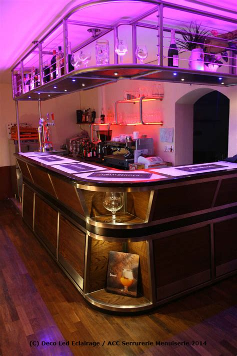 Decoration De Bar by Deco Led Eclairage Id 233 Es D 233 Co Pour Les Bars
