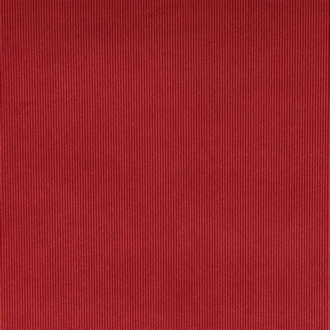 upholstery corduroy ruby red corduroy thin stripe upholstery velvet fabric by