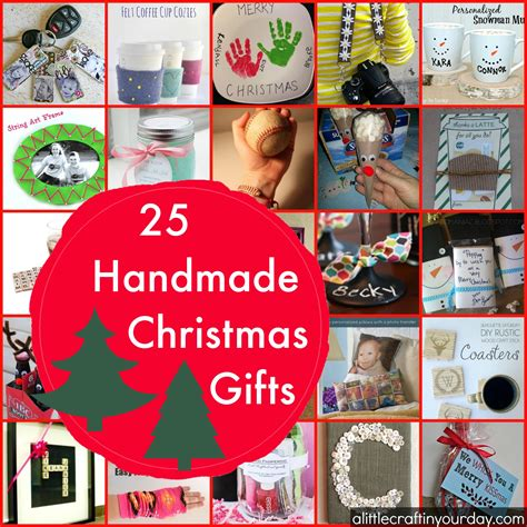 Teen Christmas Gifts - 25 handmade christmas gifts a little craft in your day