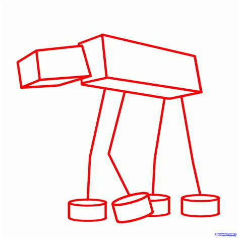 imperial walker coloring pages step 1 how to draw an imperial walker imperial walker