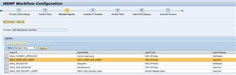 workflow configuration in sap segregation of duties review sod review description and