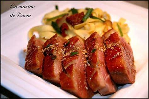 comment cuisiner le magret de canard au four recette de magret de canard au miel et vinaigre balsamique