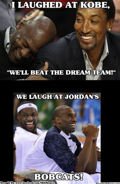 memesnba kobe bryant thinks  team  beat  dream team