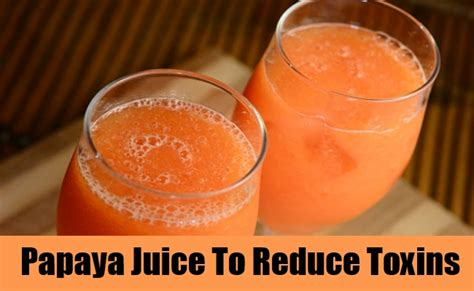 Papaya Detox Drink by Detox Drinks How To Detox Your Get Rid Of Toxins