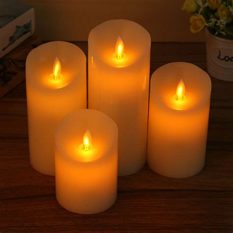 remote control led electronic flameless candle lights