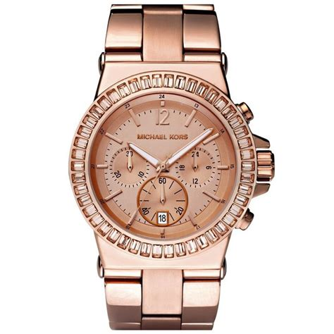 Michael Kors chronograph rose PVD plated watch MK5412   cheapest Michael Kors rose PVD plated