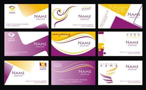 Corel Templates Business Cards by Business Visiting Card Design Cdr File Theveliger