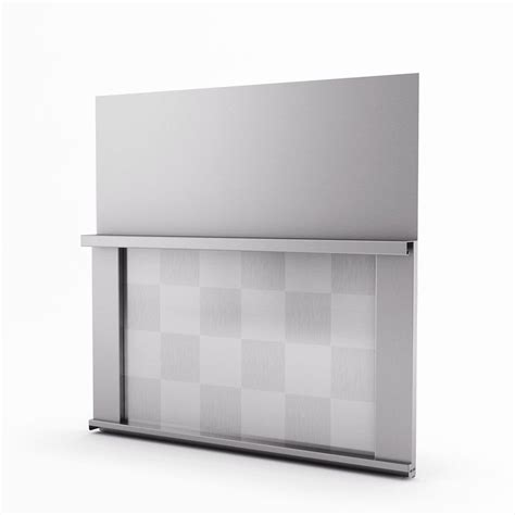 inoxia backsplashes omega real stainless steel backsplash
