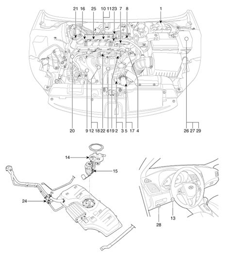 electric power steering 1997 kia sephia engine control kia rio 1 5 engine diagram simple electronic circuits