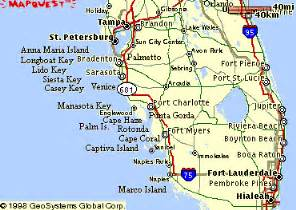 map of southwest florida coast map of southwest florida coast deboomfotografie