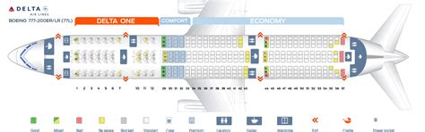seating chart boeing 777 seat map boeing 777 200 delta airlines best seats in plane