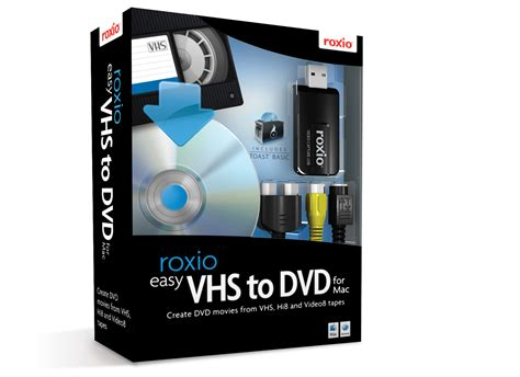 Or Vhs Roxio Easy Vhs To Dvd For Mac Product Imagery