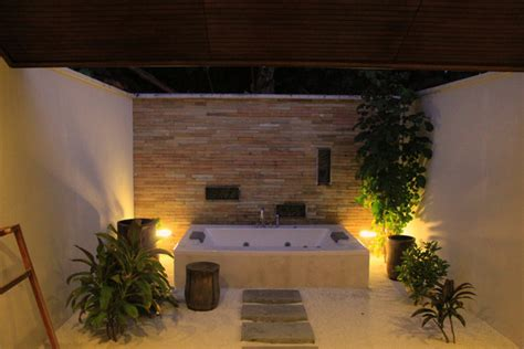 open air bathroom designs open air sanctuary modern bathroom ideas zimbio