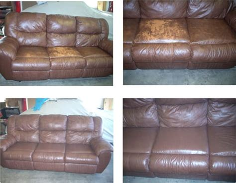 dyeing leather couch another color leather sofa re dye yelp