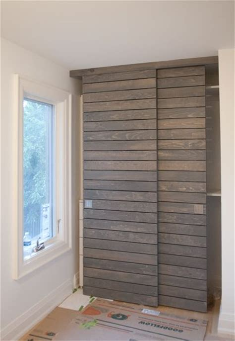 Doors Closet Doors And Closet On Pinterest Slatted Closet Doors