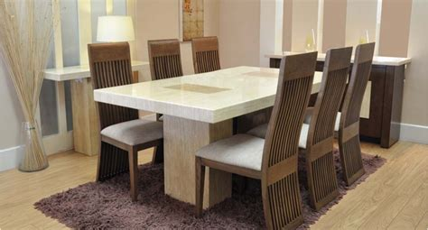 grenoble dining table and 6 chairs