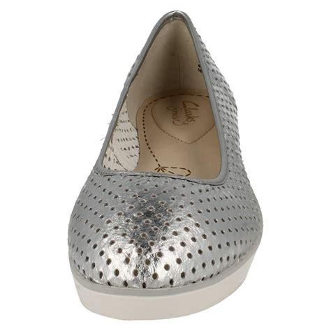 flat shoes ballerina style clarks casual ballerina style leather flat shoes