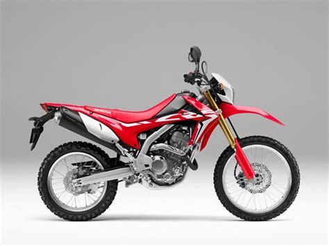 honda dual sport 250 official 2017 honda motorcycles new model lineup