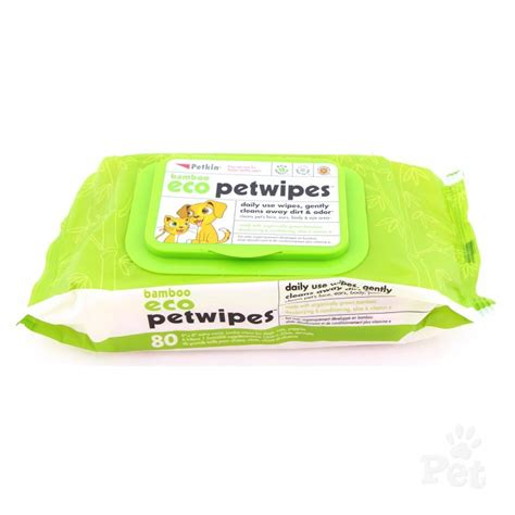 puppy wipes petkin bamboo eco pet wipes