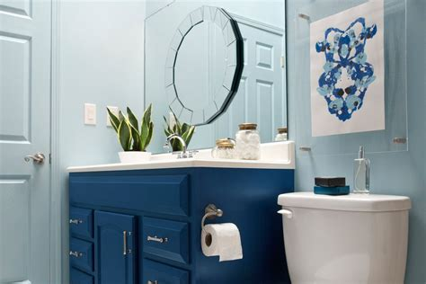 small blue bathroom ideas 21 small bathroom decorating ideas