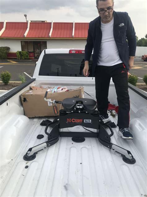 ram  curt   wheel trailer hitch  ram towing prep package dual jaw  lbs
