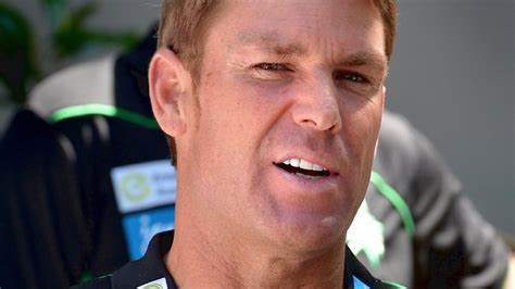 does shane warne wear a hair piece shane warne a poor excuse for a leader as demonstrated by