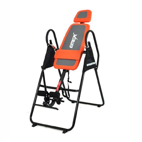 Emer Inversion Table by Emer Deluxe Foldable Gravity Inversion Table For Back