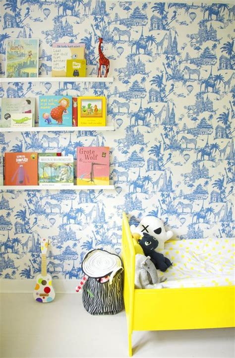 kids room wallpaper 15 cool and calming blue kids room designs house design