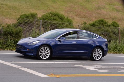 Tesla S Pictures Refined Blue Tesla Model 3 Spotted Once Again Near Tesla Hq