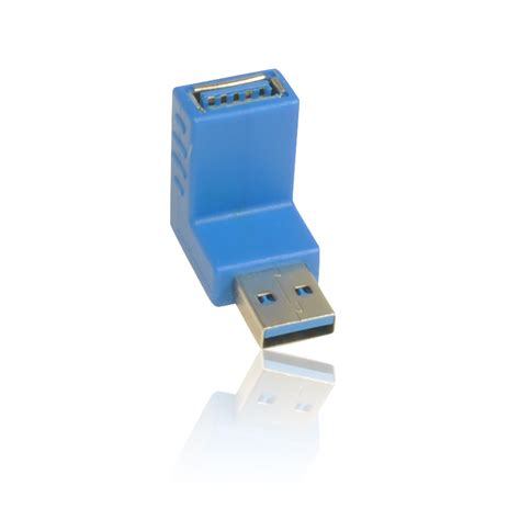 Usb 3 0 Right Angle Adapter usb 3 0 a to a 90 degree right angle adapter