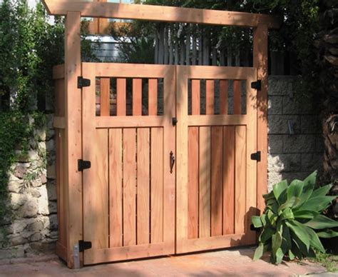 Garden Fence Gate Ideas Wood Fence Gate Designs For Your Garden Plans Custom Wood
