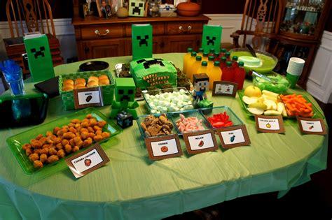 birthday ideas food birthday diy minecraft birthday birthday cake planning