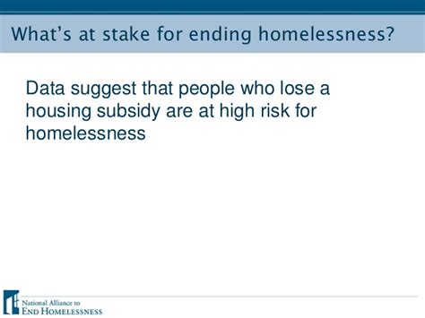 section 8 for homeless housing choice vouchers funding outlook and impact on