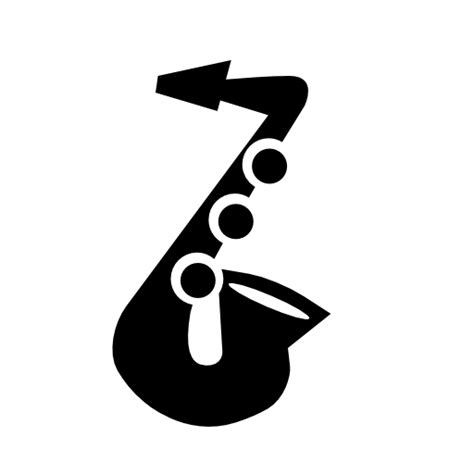 saxophone icon collection of saxophone icons free download
