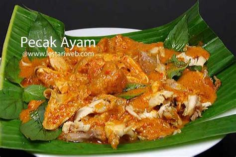 kumpulan resep asli indonesia pecak ayam