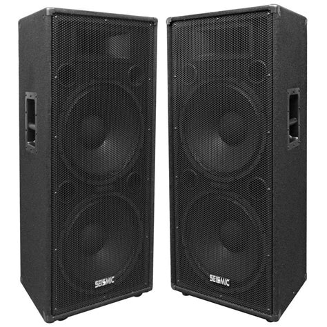 Kit Karaoke Multi Media Active Speaker Plus Subwoofer Bx6000 1 pair of premium dual 15 inch pa speakers wheel kits and handles for easy mobility pair dual