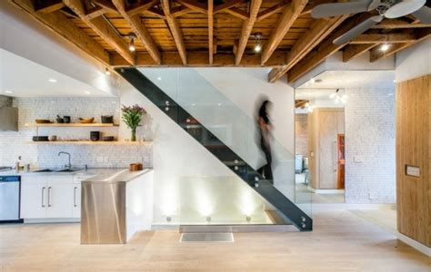 modern wood stairs move relax interior design ideas