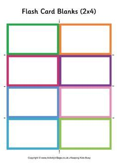 spelling flash cards template blank flash card templates printable flash cards pdf
