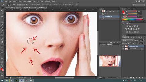 tutorial photoshop cs6 menghilangkan jerawat cara menghilangkan jerawat di photoshop sharealf