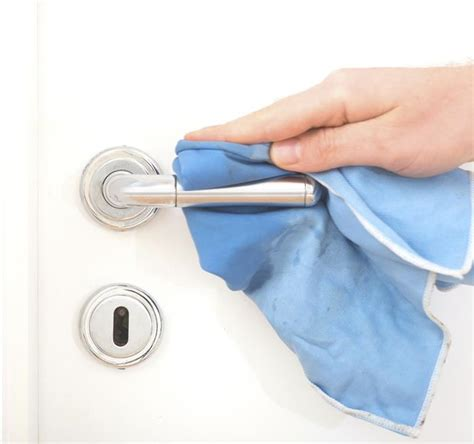 Cleaning Door Knobs by Fighting Flu At Home Clean Living American Cleaning
