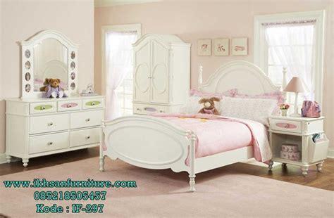 Kasur Bed Ukuran No 1 jual set kamar tidur anak perempuan klasik modern model set kamar tidur anak perempuan klasik