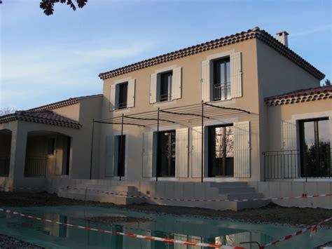 Maison Avec Terrasse Sur Le Toit by Bastide 150 M 178 Toit 4 Pentes Avec Terrasse Couverte Villa 84