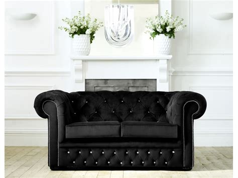 Fabric Chesterfield Sofa Bed Diamante Chesterfield Fabric Sofabed Click To Zoom