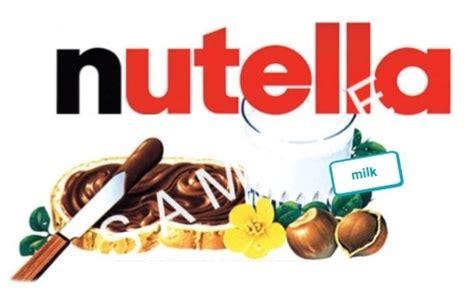 design nutella label nutella label