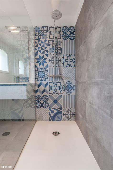 Salle De Bain Carreau De Ciment by 10 Inspirations D 233 Co Sp 233 Cial Carreaux De Ciment Mikit