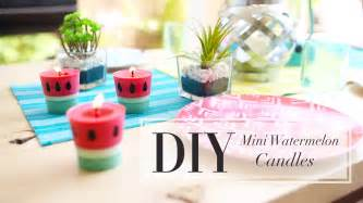 Diy Teenage Bedroom Decor diy watermelon candle how to make candles ann le youtube